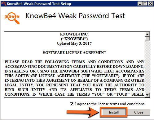 Weak Password Test (WPT) – Knowledge Base