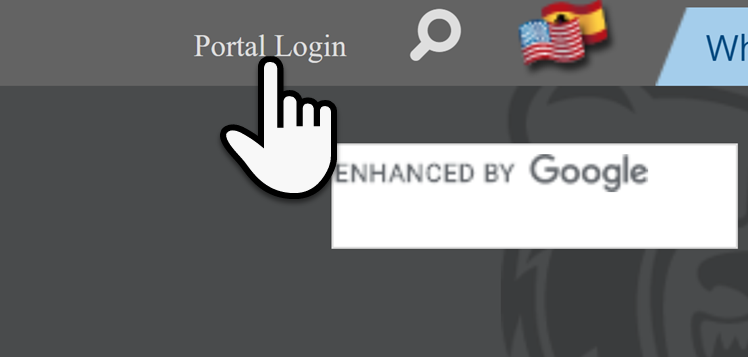 Portal Login Button Image