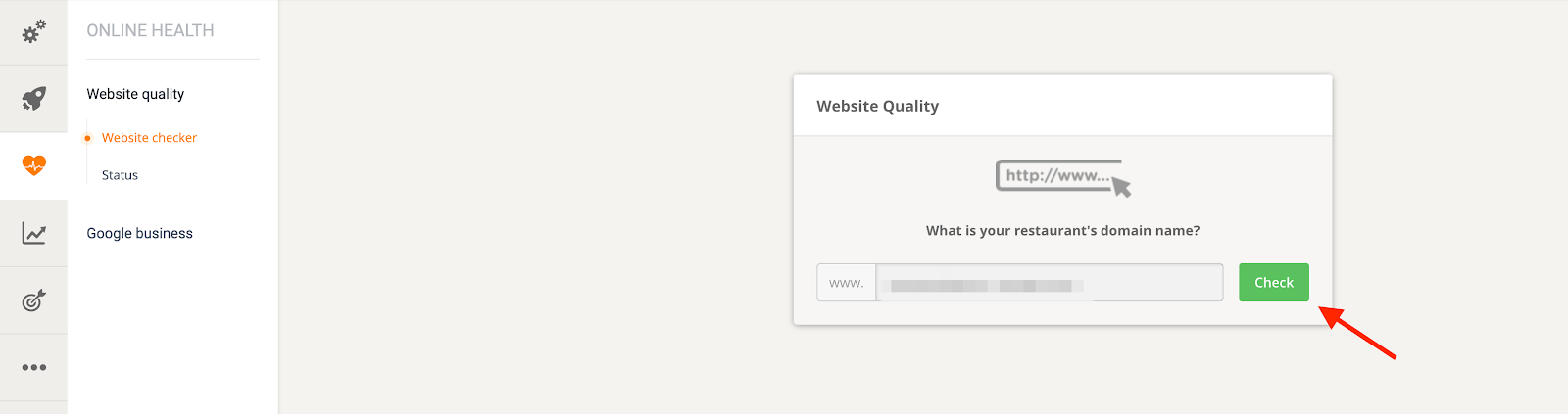 website quality is the key to success in restaurant business