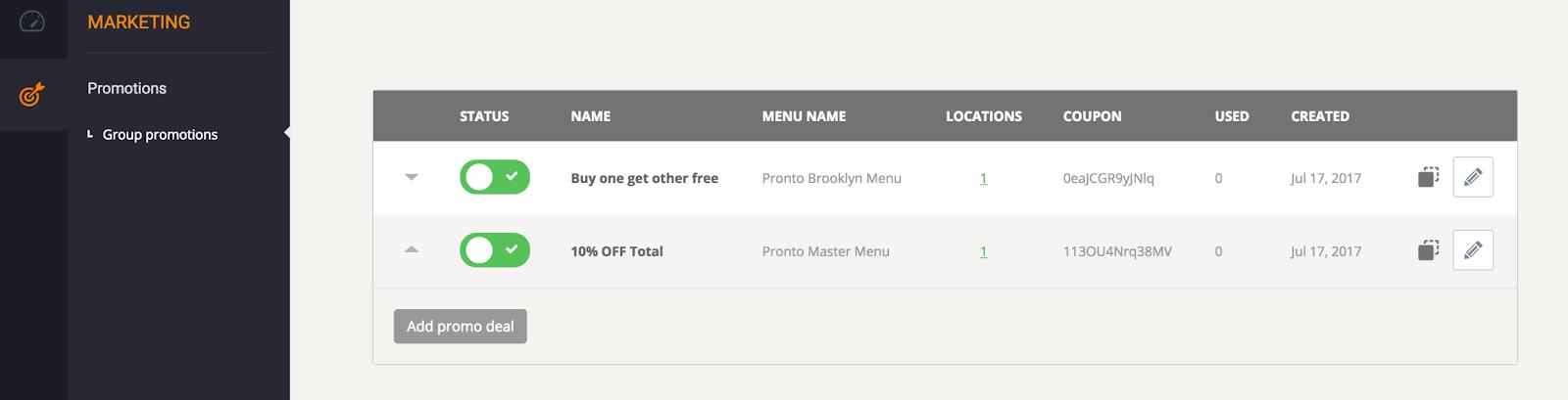 multi restaurant online ordering system