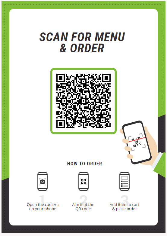 digital menu for restaurants