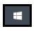 Windows Start icon - white Windows logo on black background