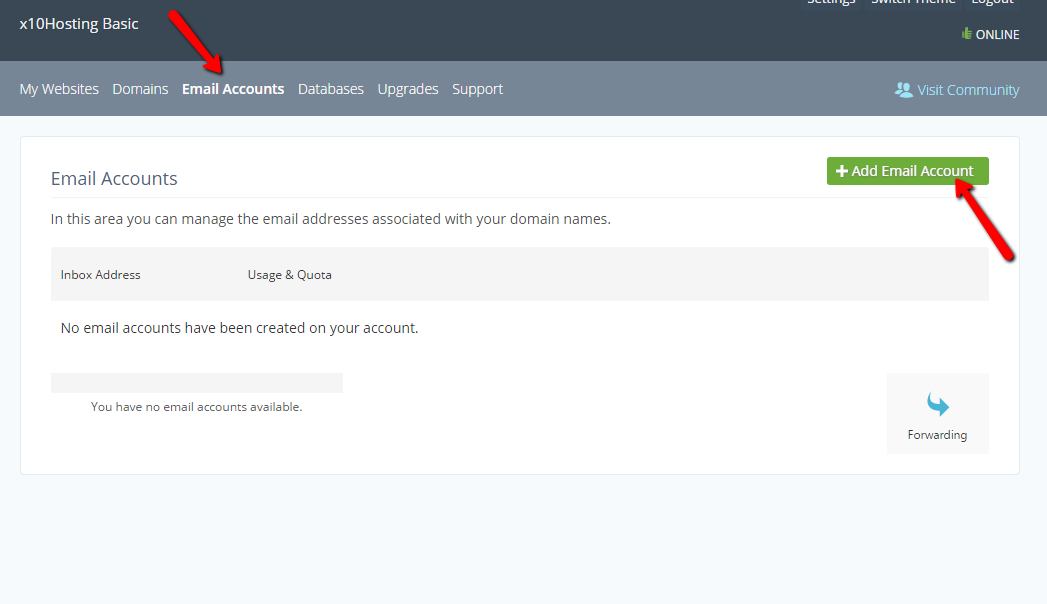 creating email