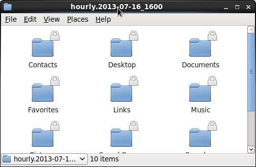 Linux File Recovery - Hourly