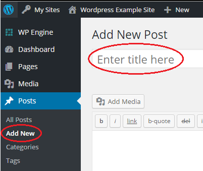 Article - How do I add a post to my W...