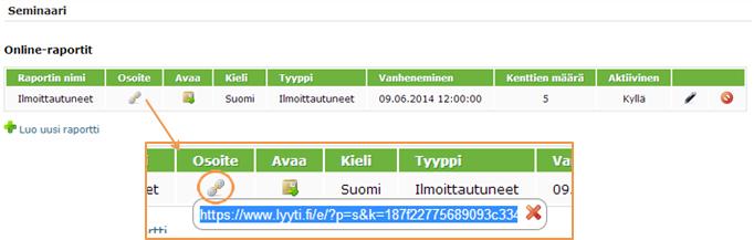 Online-raportit-sivu