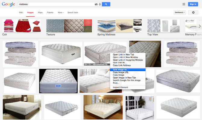 A google image search
