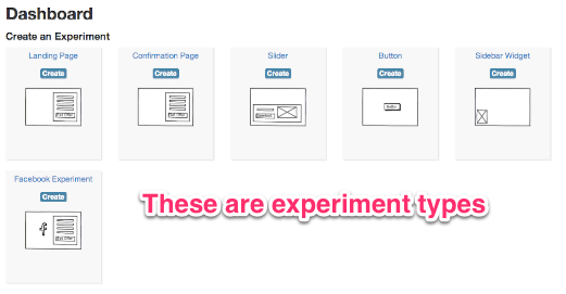 Experiment Types