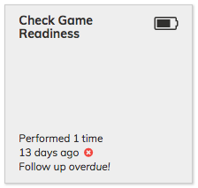 Check Game Readiness