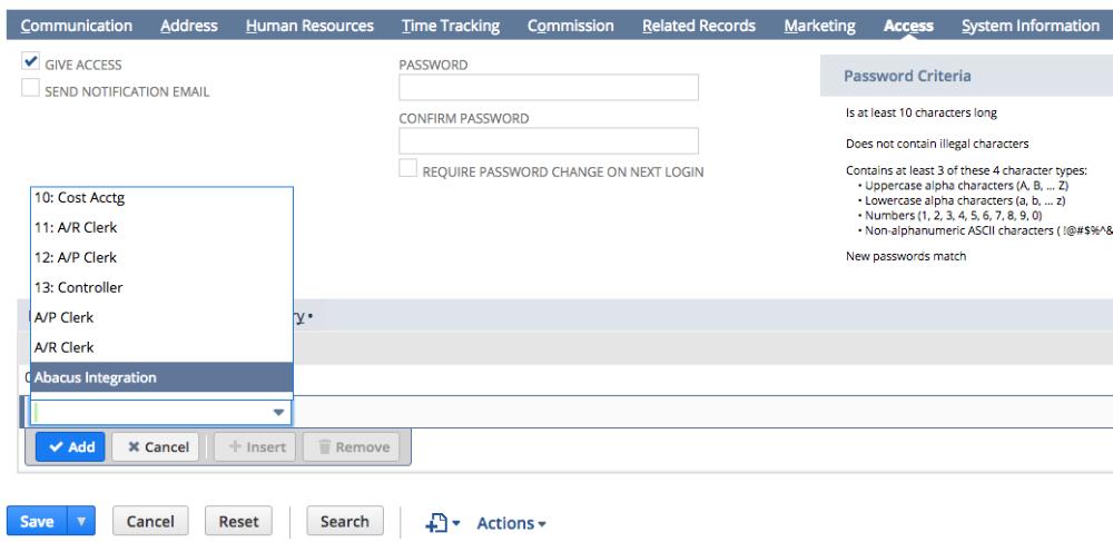 NetSuite Expense Management Integration