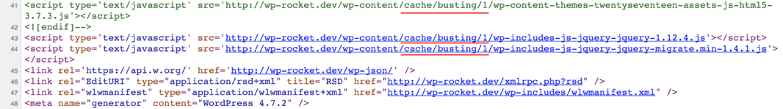 Dateinamen mit kodierter Versionsnummer