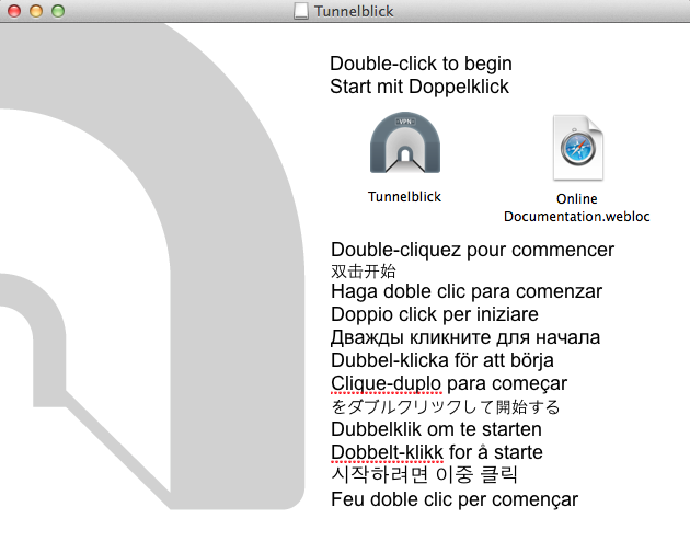 How to Set Up Tunnelblick on Mac OS X – Buffered com