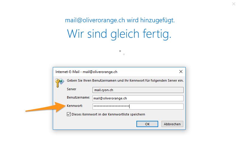 Server-Authentifizierung