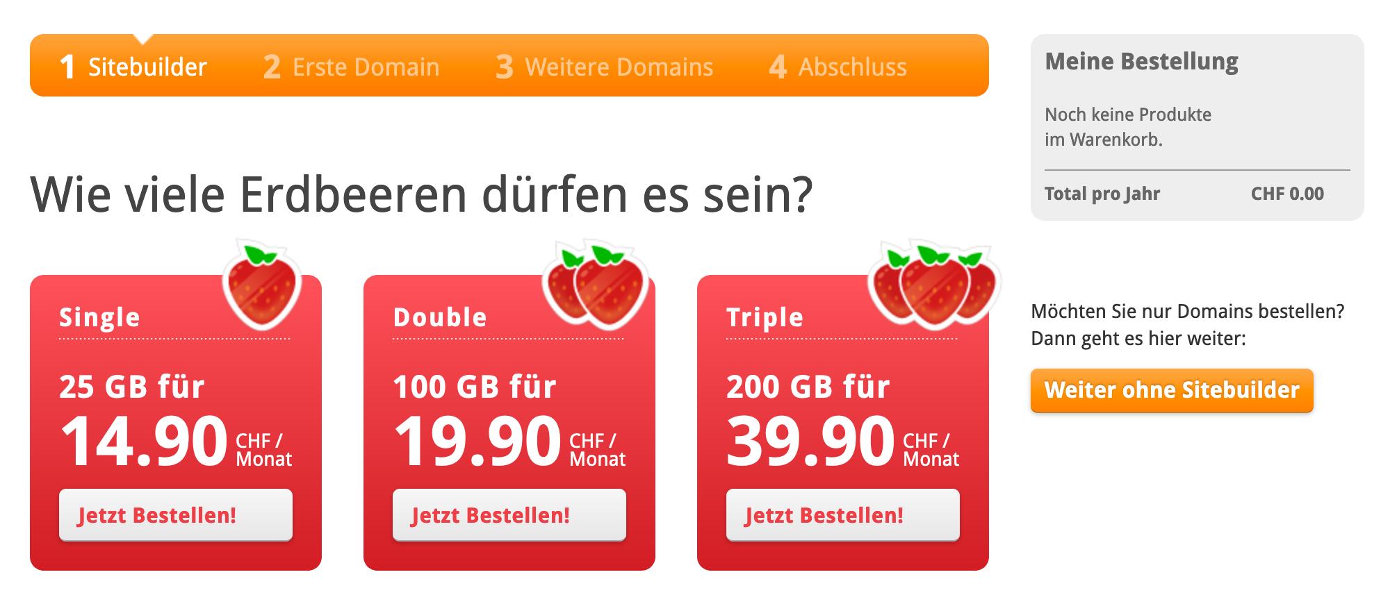 Wie viele Erdbeeren dürfen es sein?