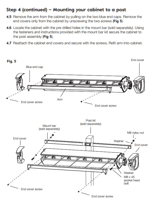 hills retracting 5 clothesline installation guide image 8