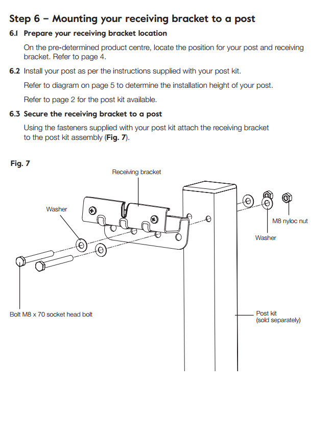 hills retracting 5 clothesline installation guide image 10