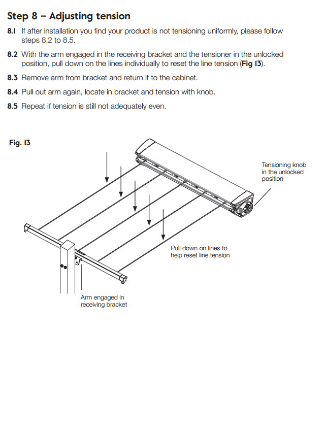 hills retracting 5 clothesline installation guide image 12