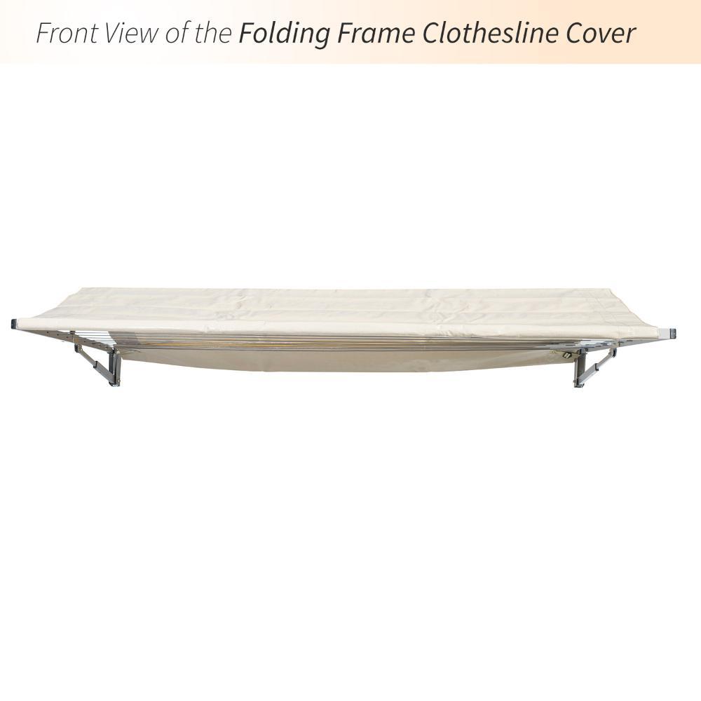 rectangular clothesline cover