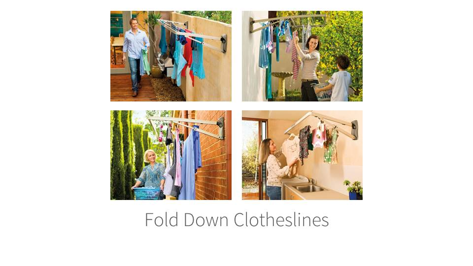 Hills Foldown Clothesline Installation Newcastle NSW