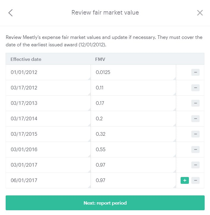 Fair Market Value >> Fair Market Value Fmv Table