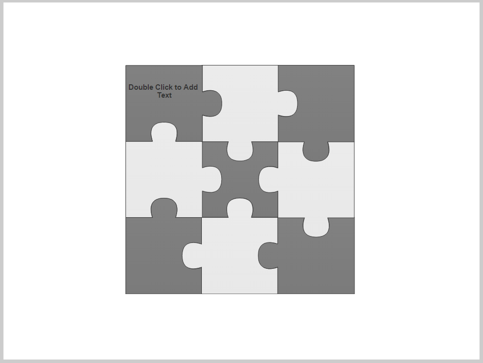 Puzzle piece diagram smartdraw for jira adaptavist documentation choose different puzzle pieces or insert additional symbols by dragging and dropping or clicking and stampingthem from the library in the smartpanel or ccuart Choice Image