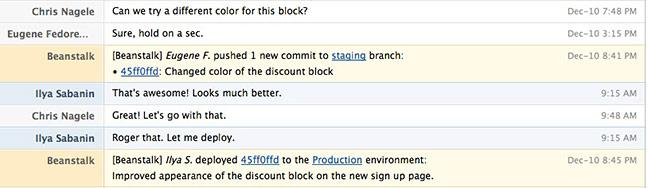 HipChat integration example