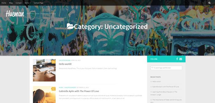 Uncategorized category slider half-window
