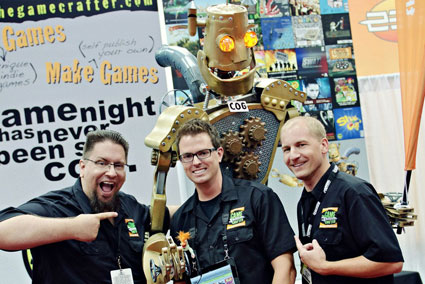 The Founders of The Game Crafter (JT Smith, Tavis Parker, Jamie Vrbsky)