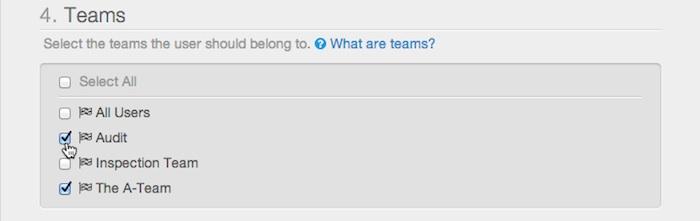 User Teams