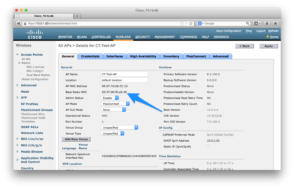 Setting up your Cisco Splash Pages – Cucumber Tony