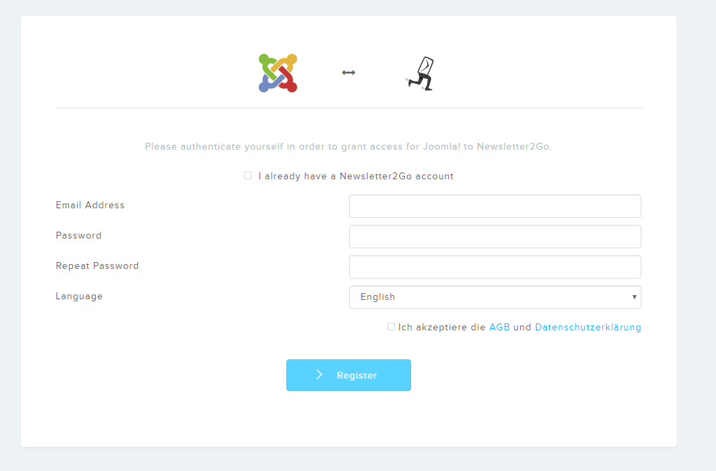 How do I set up the Joomla Newsletter Module