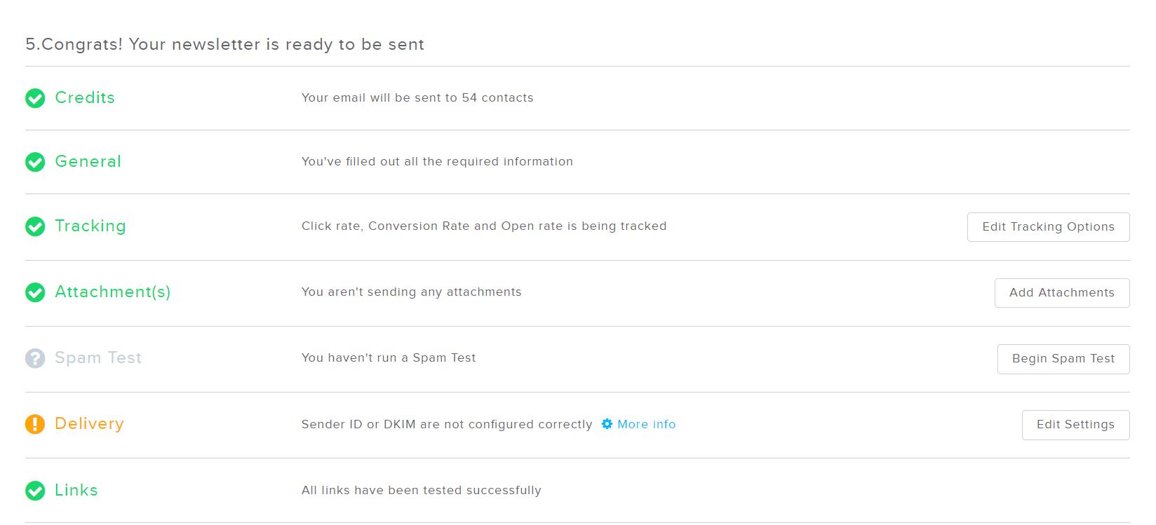 How Does the Newsletter2Go Spam Test Work?   Newsletter2Go Help