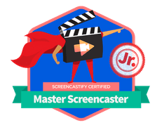 Master the Screencast Jr