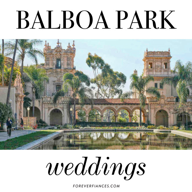 Balboa Park Wedding invitations