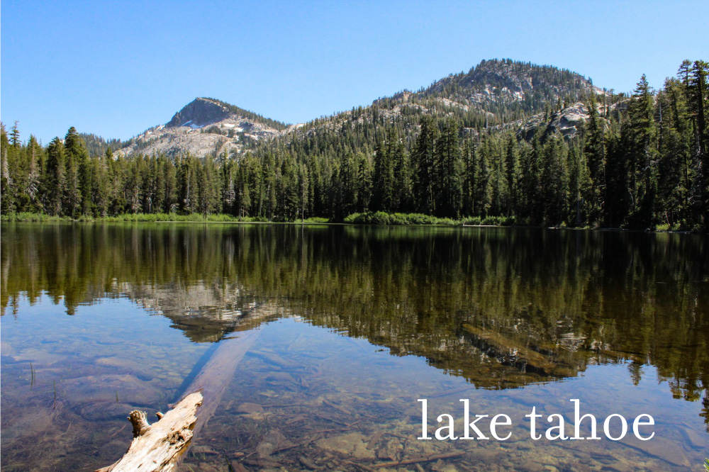 lake tahoe reflection