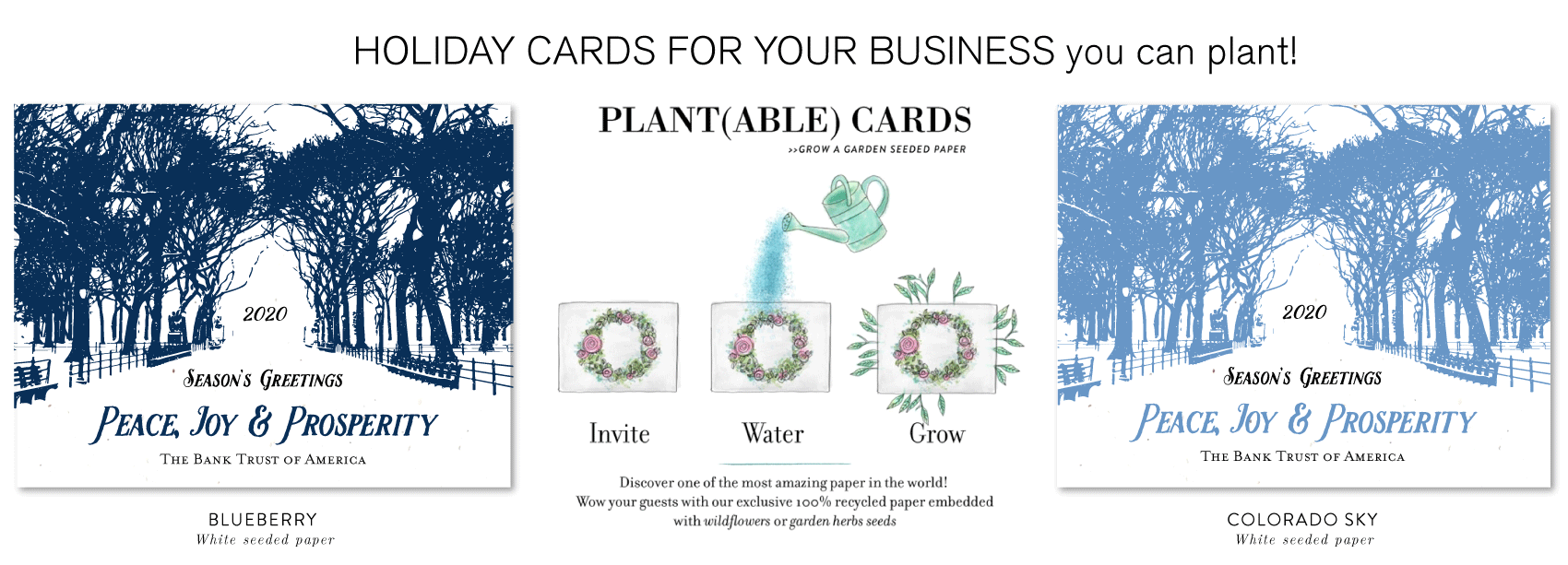 central park holiday cards business