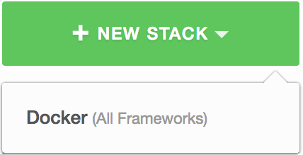 Build a new docker stack from the dashboard