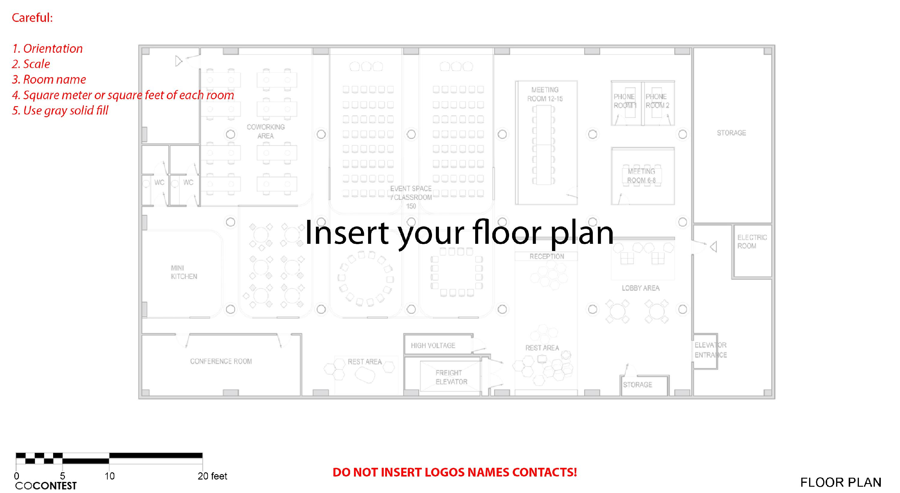 Floor Plan Template - Knowledge Base GoPillar