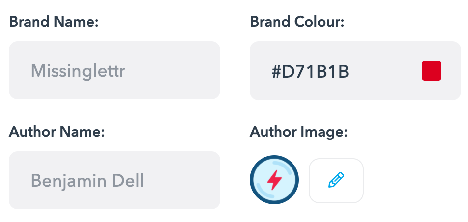 Solo plan users can now edit the brand colour