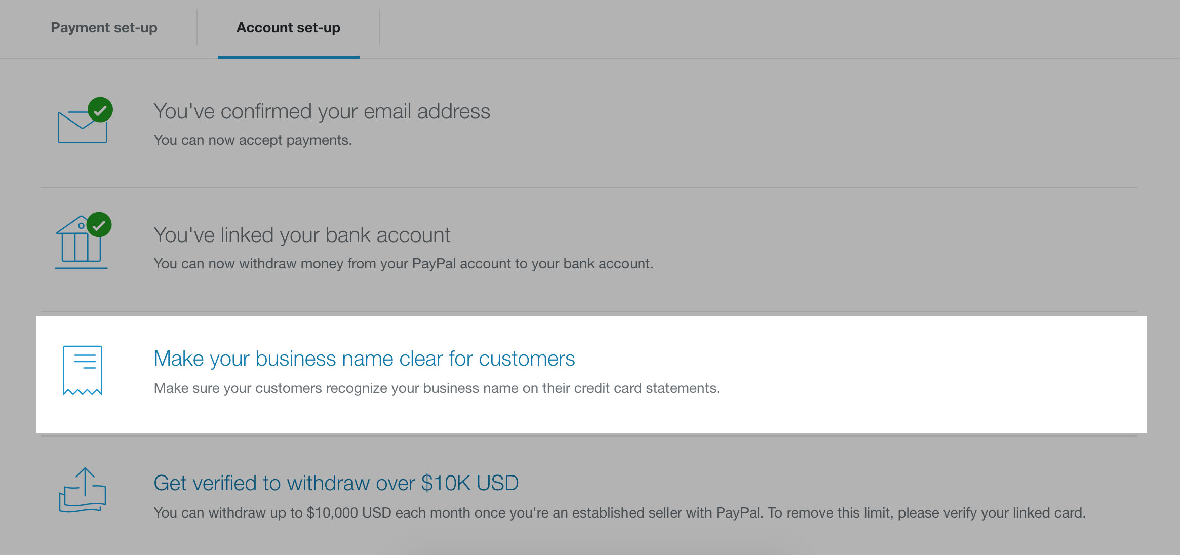 Business Credit Card Paypal Gallery - Card Design And Card Template