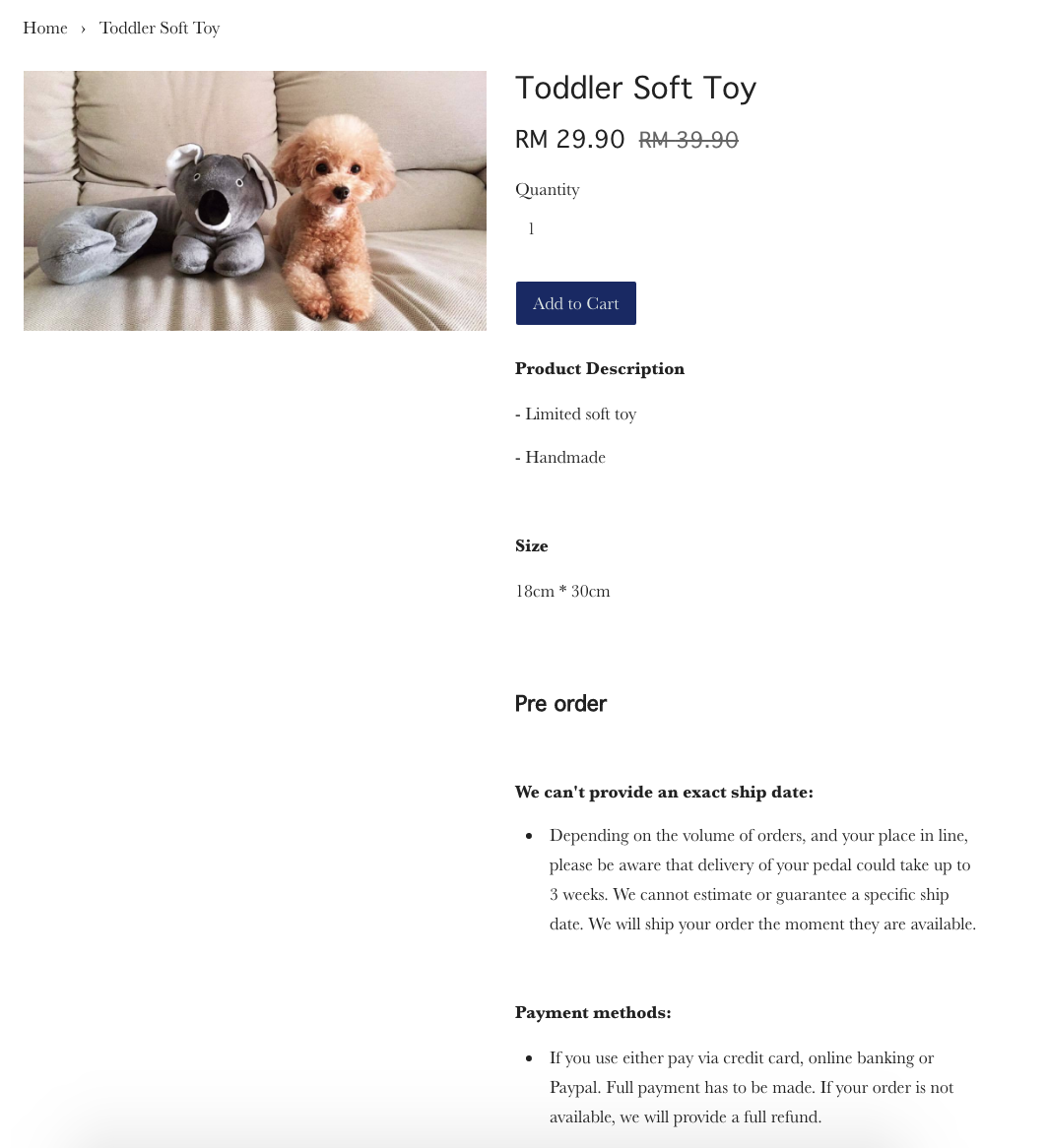 Enable Description template – Product Description Template