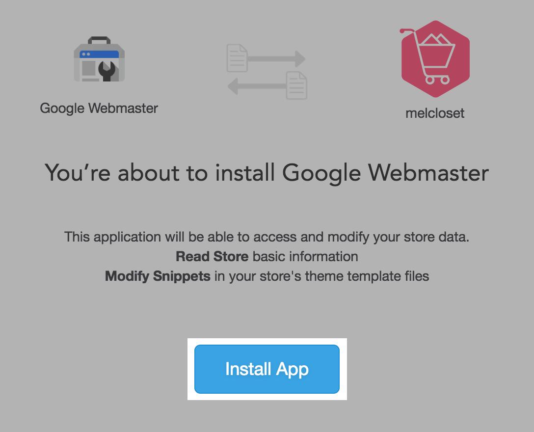 google webmaster tools easystore