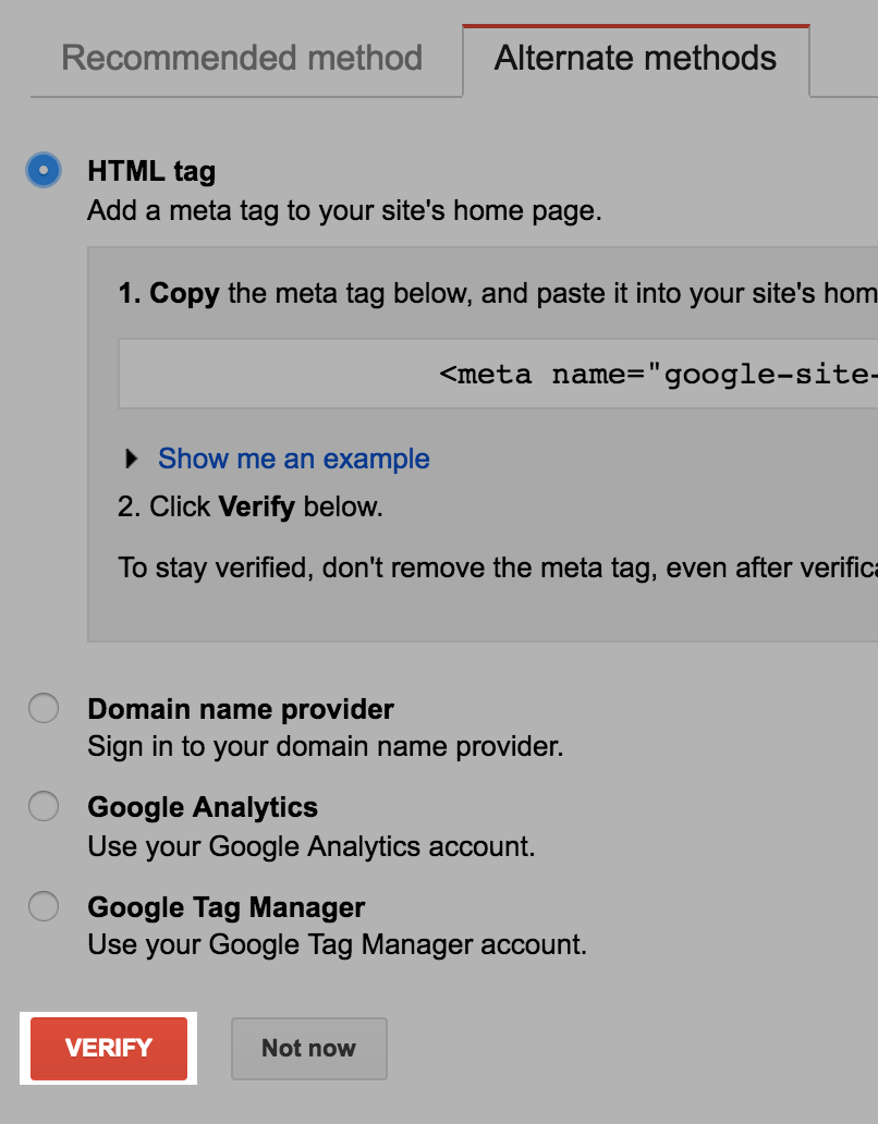 using google webmaster tools easystore help center