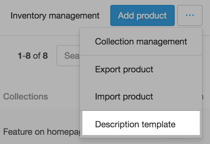Apply same product description to all products – Product Description Template