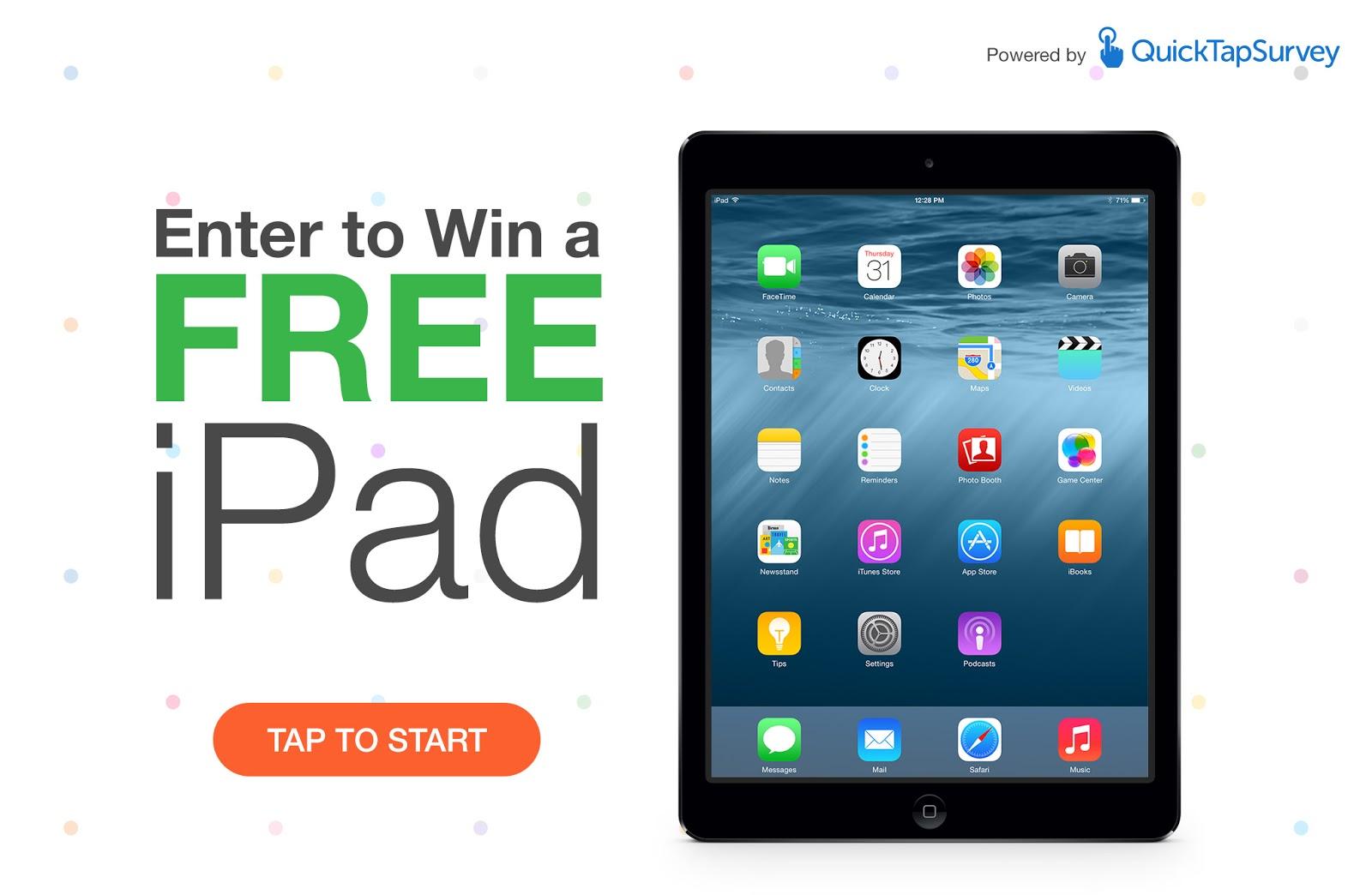 Free Ipad Survey Contest