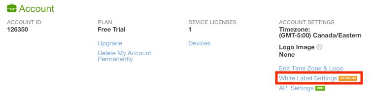 Select Your White Label Web App Custom URL   QuickTapSurvey
