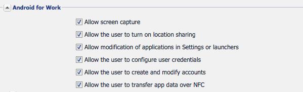 How to configure App Configuration Policies - MobileIron