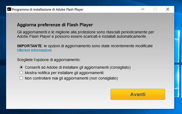 Come attivare Adobe Flash Player in Firefox