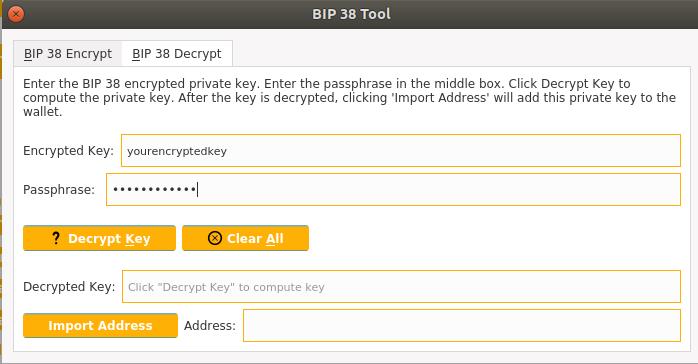 BIP38 Encryption/Decryption Tool | Solaris