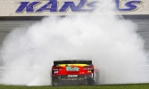 Jeff Gordon wins at Kansas